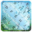Spring Rain Keyboard Theme