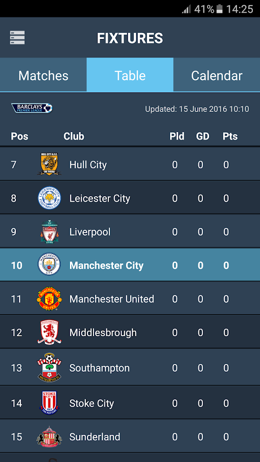 CityApp - Manchester City FC- screenshot