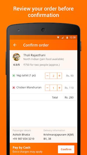 IRCTC eCatering - Food on Track screenshot 4