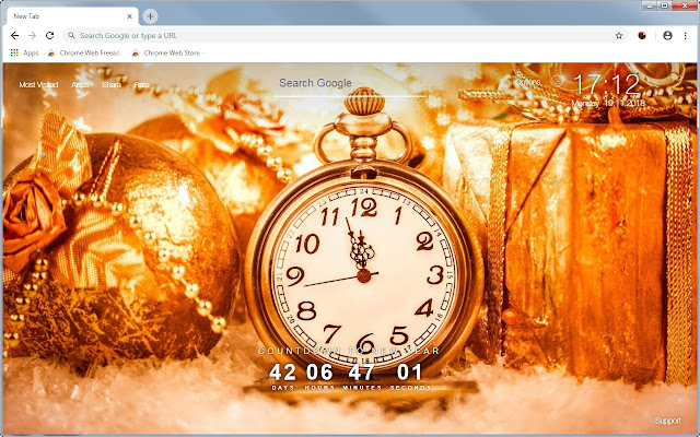 Happy New Year Countdown HD Wallpaper Themes