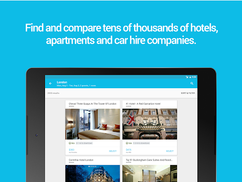 Skyscanner APK screenshot thumbnail 10