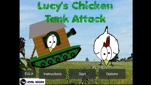 Lucy's Chicken Tank Attack