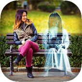 Ghost in Photo Icon