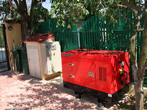 Photo: Generator Yanmar 13 kva, Romania Bus srl, Bucuresti