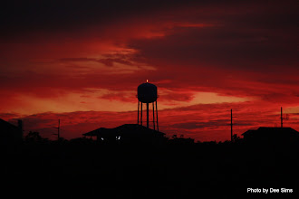 Photo: (Year 3) Day 121 - Sunset and the Buxton Water Tower
