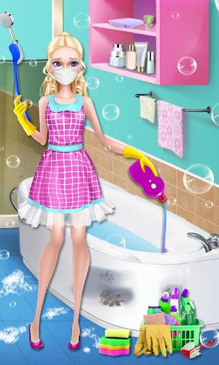 美女娃娃- 家居清潔大作戰