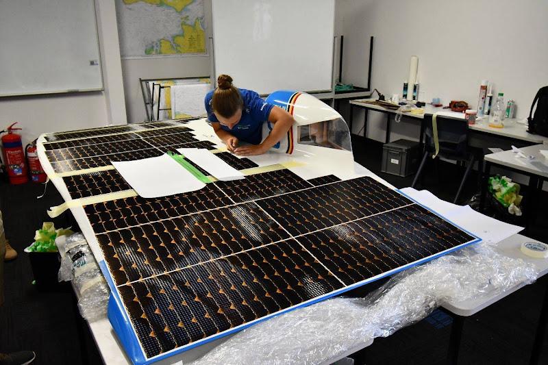 Belgian Solar Team almost ready for Bridgestone World Solar Challenge