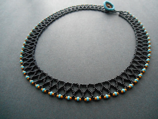 Mini Chevron Collar