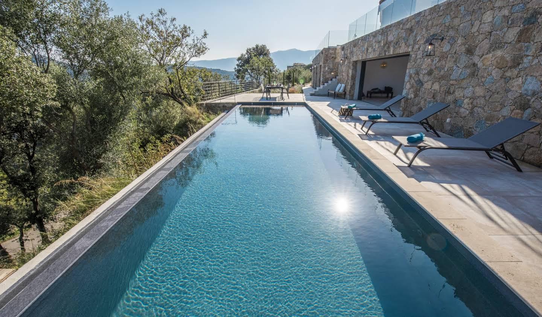 Villa avec piscine et jardin Santa-Reparata-di-Balagna