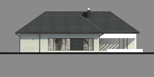 New House 17 - Elewacja lewa