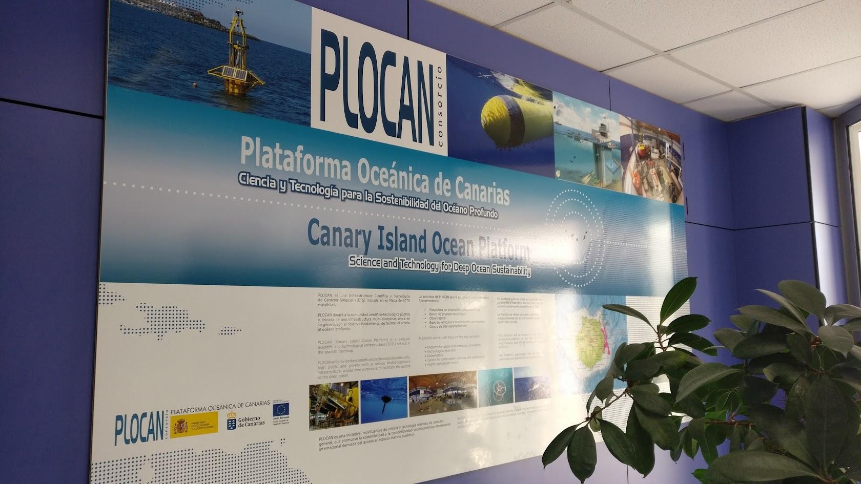 Una interesante visita sobre #Drones submarinos, al @plocan Plataforma Oceánica de Canarias