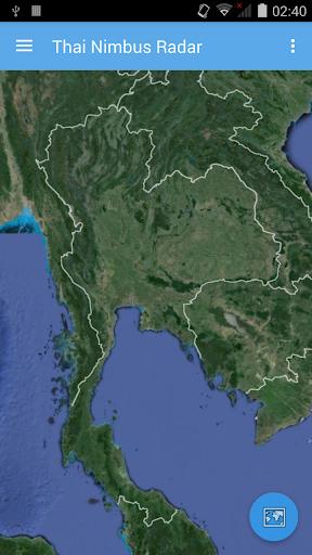 泰国雨云雷达