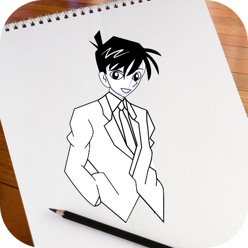 Learn To Draw Detective Conan