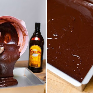 Chocolate Fudge Brownies with Kahlua