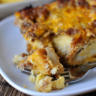 Make-Ahead Sausage and Egg Breakfast Bake.