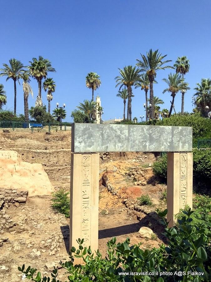 Ворот Рамсеса Второго. Экскурсия в Яффо, Израиль.