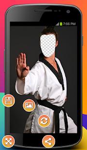 Karate Photo Montage - náhled