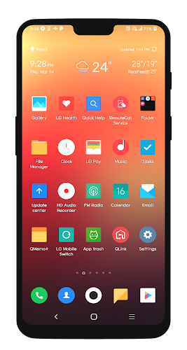 Download MIUI Dark Theme G7 APK latest version App by WSTeams for