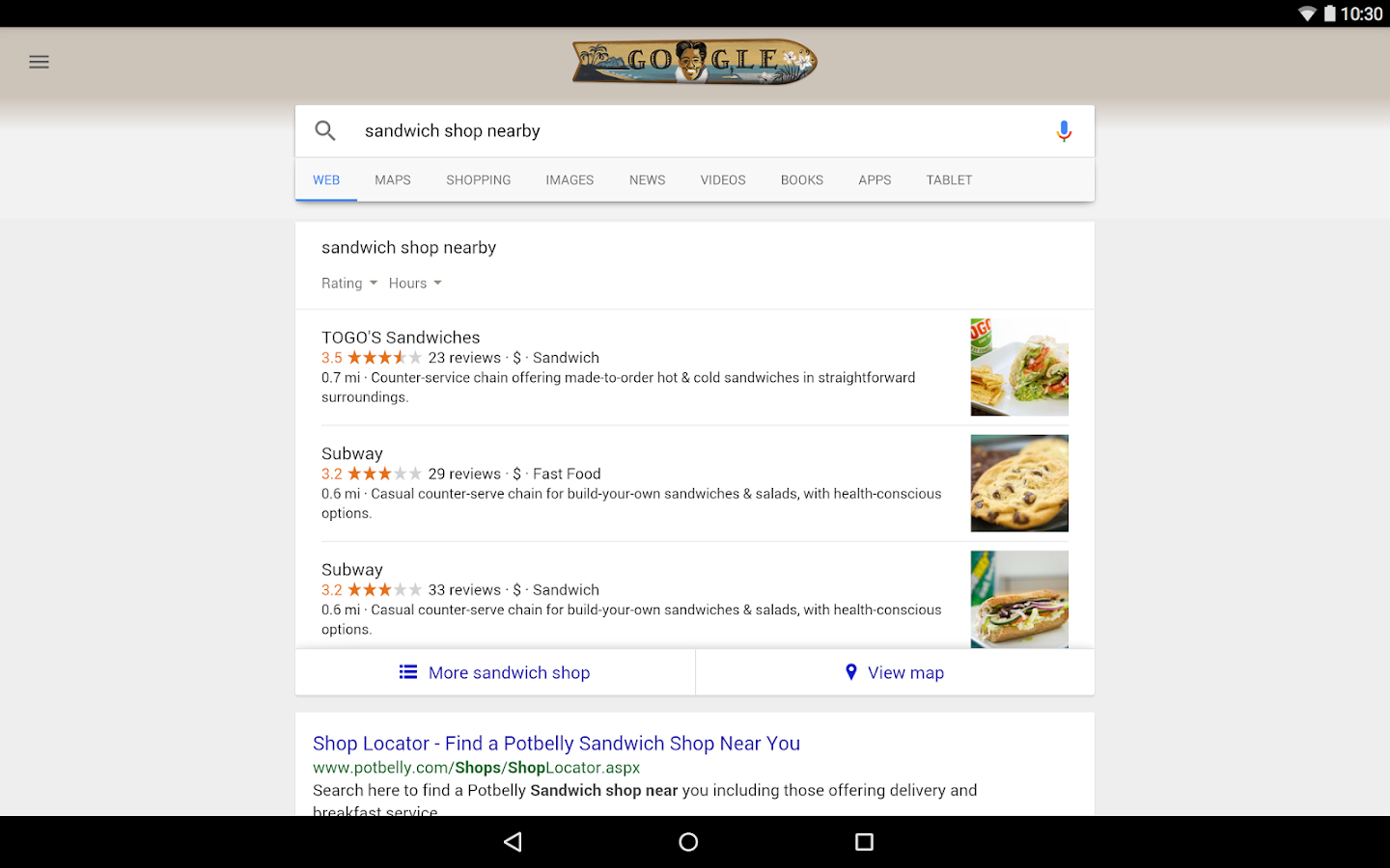 Google- screenshot