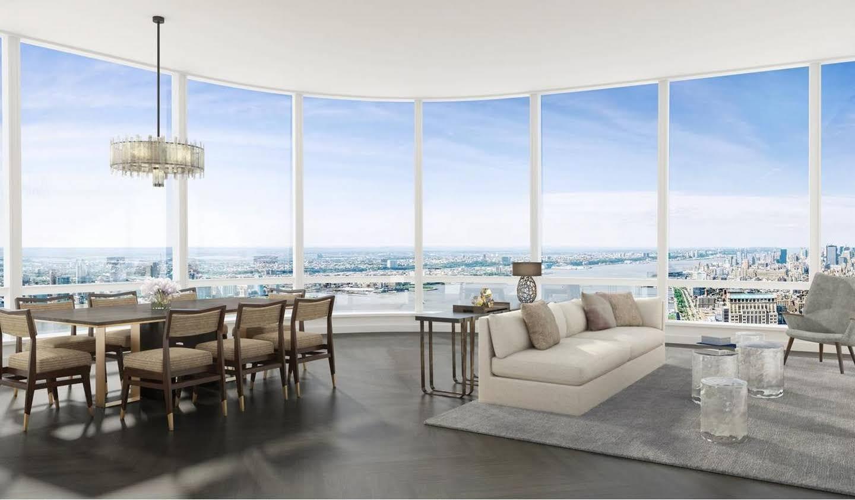 Appartement contemporain avec terrasse et piscine New York