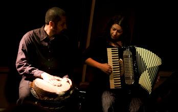Photo: Na Marcowych Mostach, poznańskie prawykonanie w salonie muzycznym Art&Piano House, 2.03.2013, fot. Paulina Kukiz