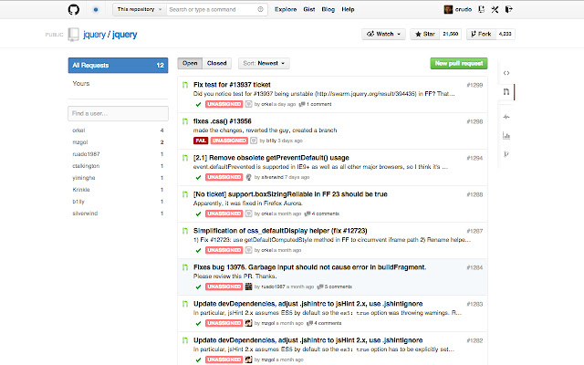 GitHub Pull Requests Beautifier