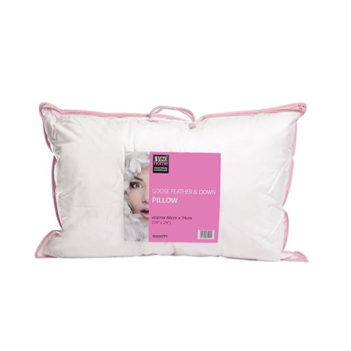 Surrey Down Home White Goose Feather & Down Pillows