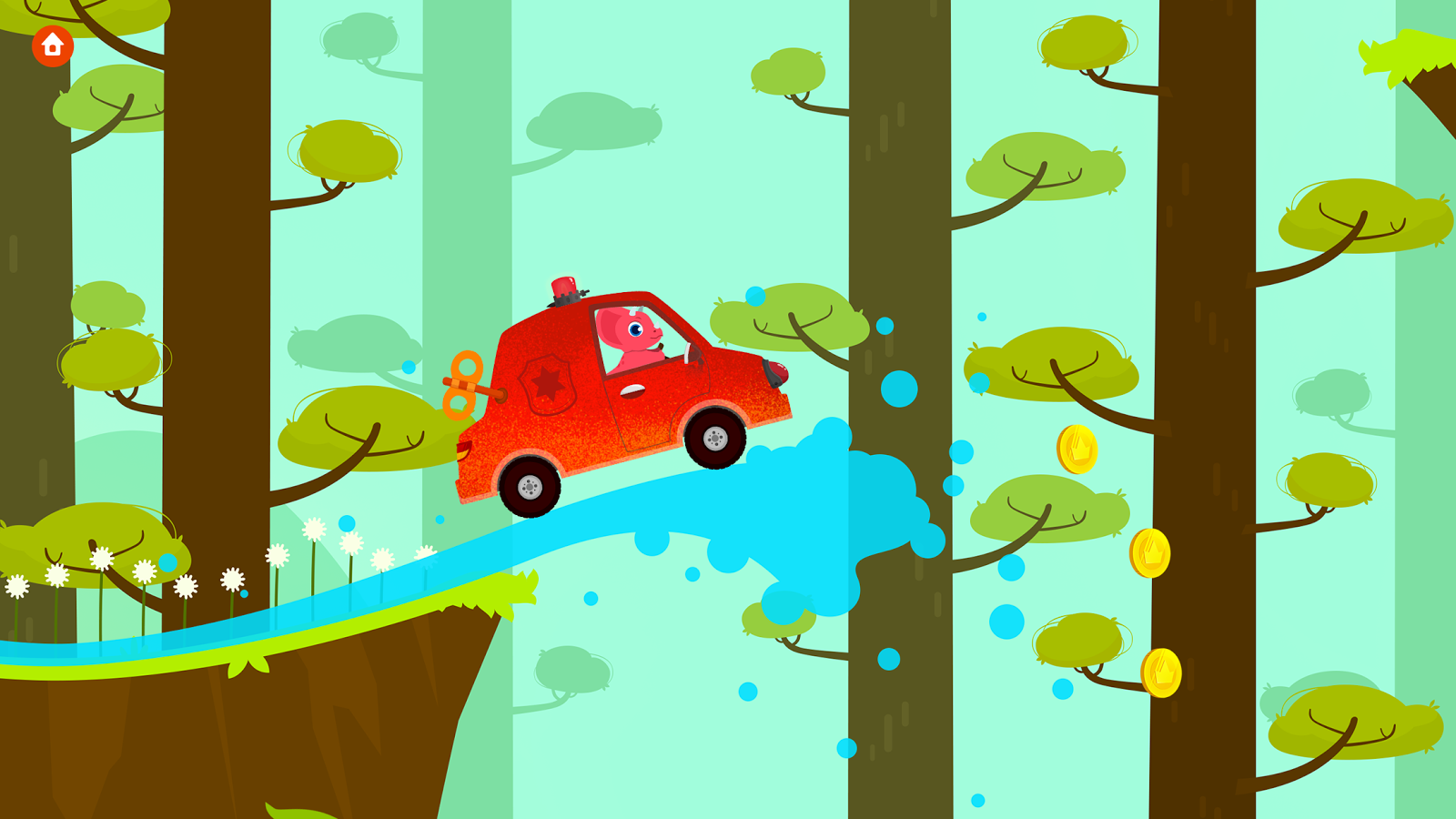 Dinosaur Car Painting Free- screenshot