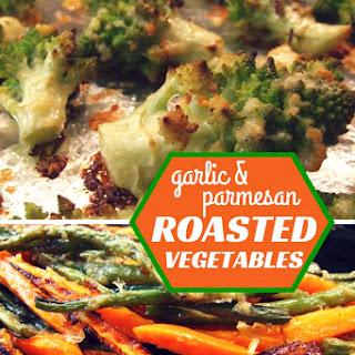 Garlic & Parmesan Roasted Vegetables Recipe