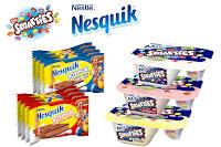 Angebot für 3 für 2 Nesquik Snack und/oder Smarties Mix-in im Supermarkt - Nestle