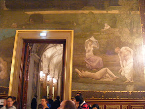 Photo: The Puvis de Chavannes passage room contains two large paintings, the first: Summer