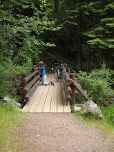 Photo: Day 7: A footbridge in Moran state park.