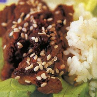Korean Beef In Lettuce.