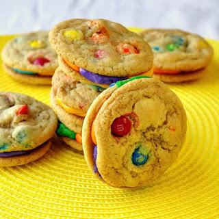 Summer Fun M&M Cookies