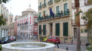 Plaza del Ayuntamiento de Cuevas del Almanzora en una imagen de archivo.