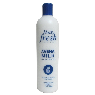 crema corporal body fresh avena milk 480ml
