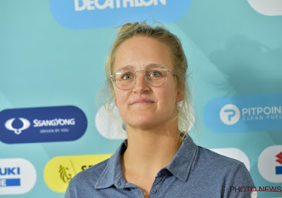 Dan toch een terugval voor wereldkampioene Emma Plasschaert