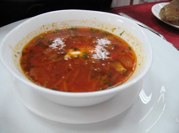 Ukrainian Borscht Recipe