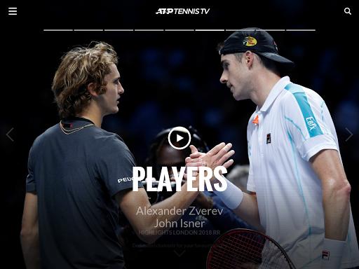 Tennis TV - Live ATP Streaming 2.3.4 screenshots 17