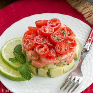 Simple Salmon Tartare.
