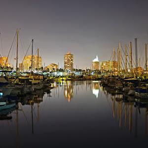 Long beach harbor and downtown.jpg