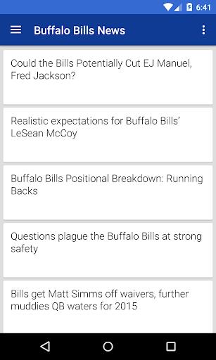 BIG Buffalo Football News
