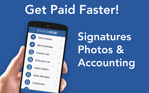 Invoice ASAP For Invoicing Apps On Google Play - Invoice asap android