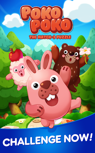 POKOPOKO The Match 3 Puzzle apkpoly screenshots 5