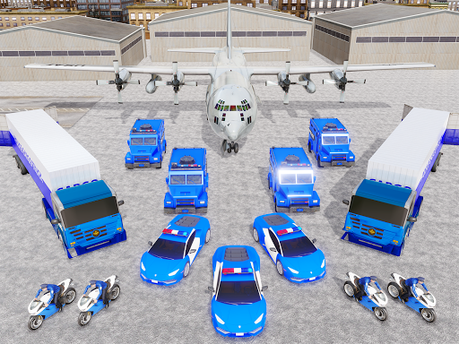 US Police Transporter Plane Simulator 2.1 screenshots 15
