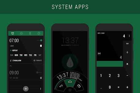 Leaf – PA/CM11 Theme 2.6.6 APK with Mod + Data 2