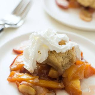 Gluten Free Fresh Peach Cobbler