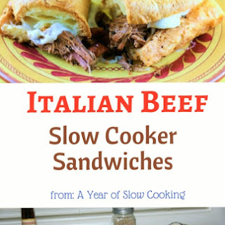 Italian Beef Sandwiches, and other Super Bowl- Type Food