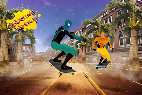 Spider Skating město hrdina - náhled