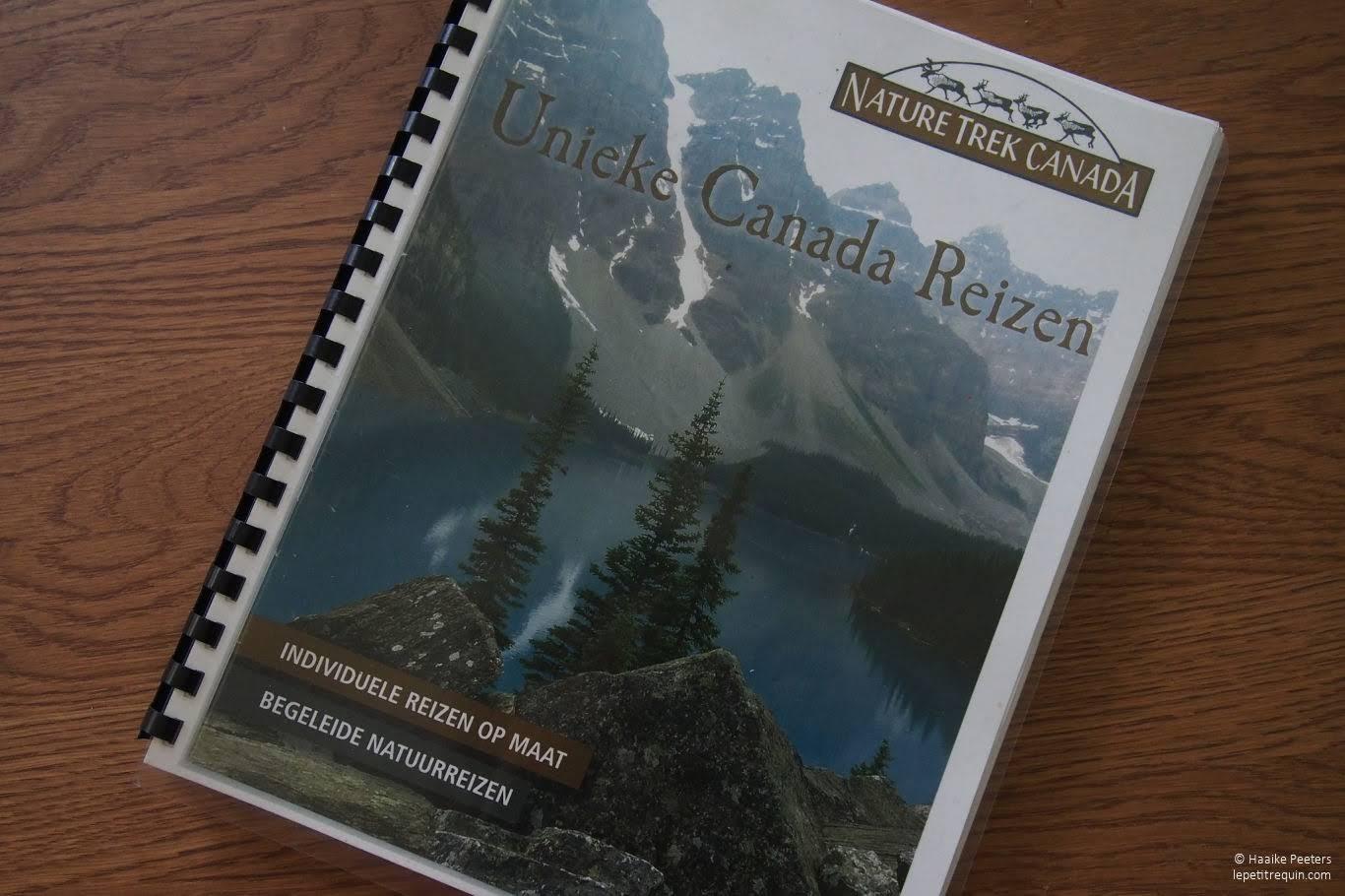Nature Trek Canada reisgids (Le petit requin)